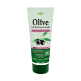 HERBOLIVE FACE SCRUB CREAM WITH ALMONDS