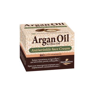 ARGAN FACE ANTIWRINKLE CREAM NORMAL-COMBINATION SKIN