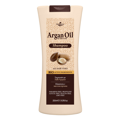 ARGAN HAIR SHAMPOO ALL TYPES
