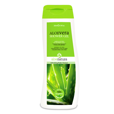 ALOE NAT BODY SHOWER GEL