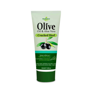 HERBOLIVE FOOT CRACKED HEEL CREAM ALOE
