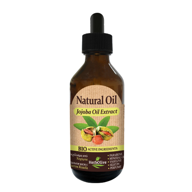 HERBOLIVE NATURAL OIL JOJOBA EXTRACT