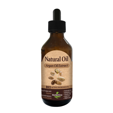 HERBOLIVE NATURAL OIL ARGAN EXTRACT