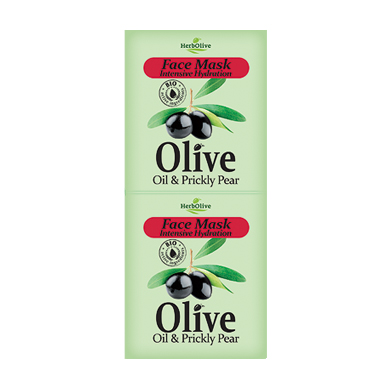 HERBOLIVE FACE MASK INTENSIVE HYDRATION WITH PRICKLY PEAR