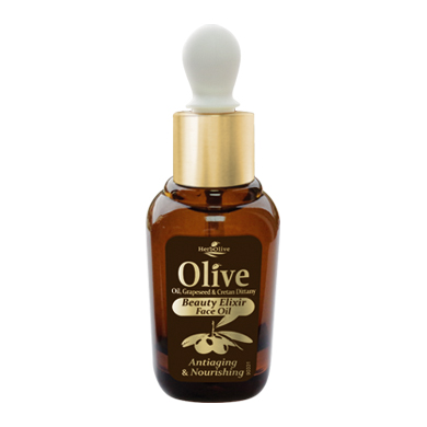 HERBOLIVE FACE ELIXIR OIL ANTIAGING NOURISHING