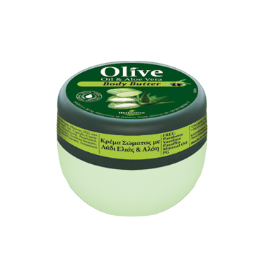 HERBOLIVE BODY BUTTER ALOE (mini 50 ml)