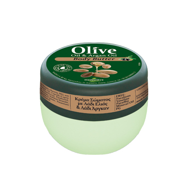 HERBOLIVE BODY BUTTER ARGAN OIL (mini 50 ml)