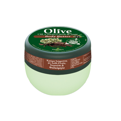 HERBOLIVE BODY BUTTER CAROB SAGE (mini 50 ml)