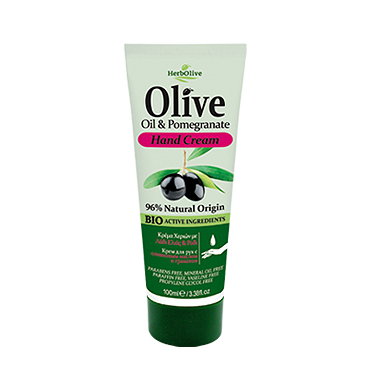 HERBOLIVE HAND CREAM WITH POMEGRANATE