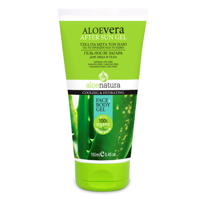 ALOE NAT BODY AFTER SUN GEL