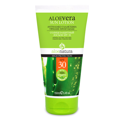 ALOE NAT BODY SUN LOTION SPF 30