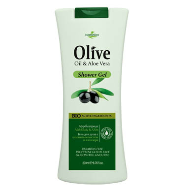 HERBOLIVE BODY SHOWER GEL ALOE