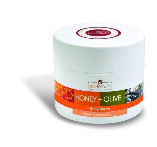 Body Butter HONEY & OLIVE with BIO honey, BIO olive oil and Greek summer fruits