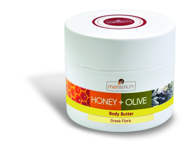 Body Butter HONEY & OLIVE with BIO honey, BIO olive oil and Greek herbs