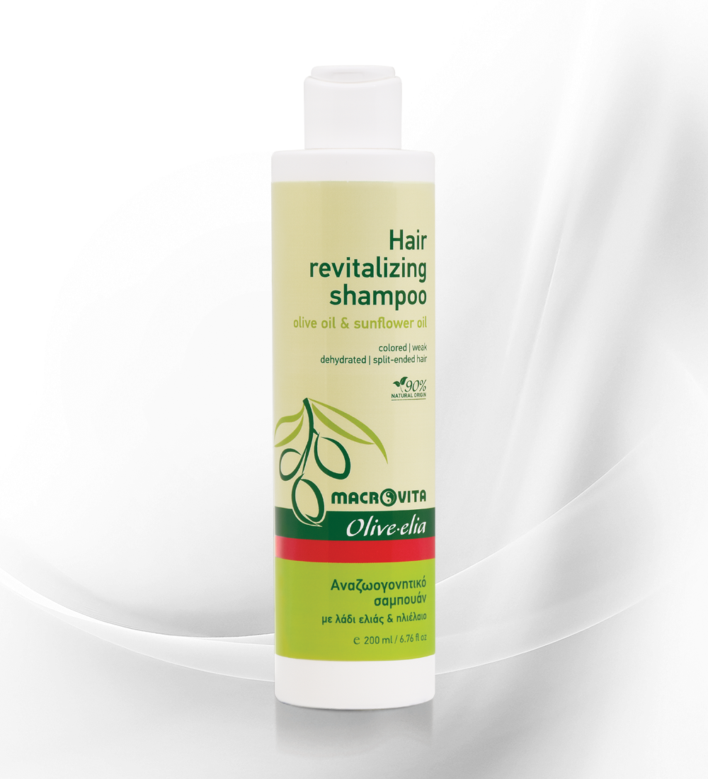 Hair revitalizing shampoo OLIVE.ELIA