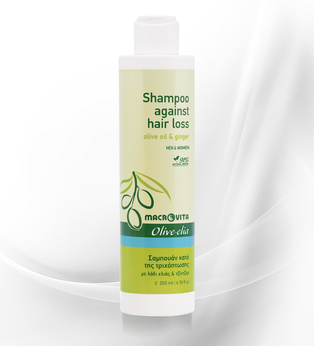 Shampoo against hair loss OLIVE.ELIA