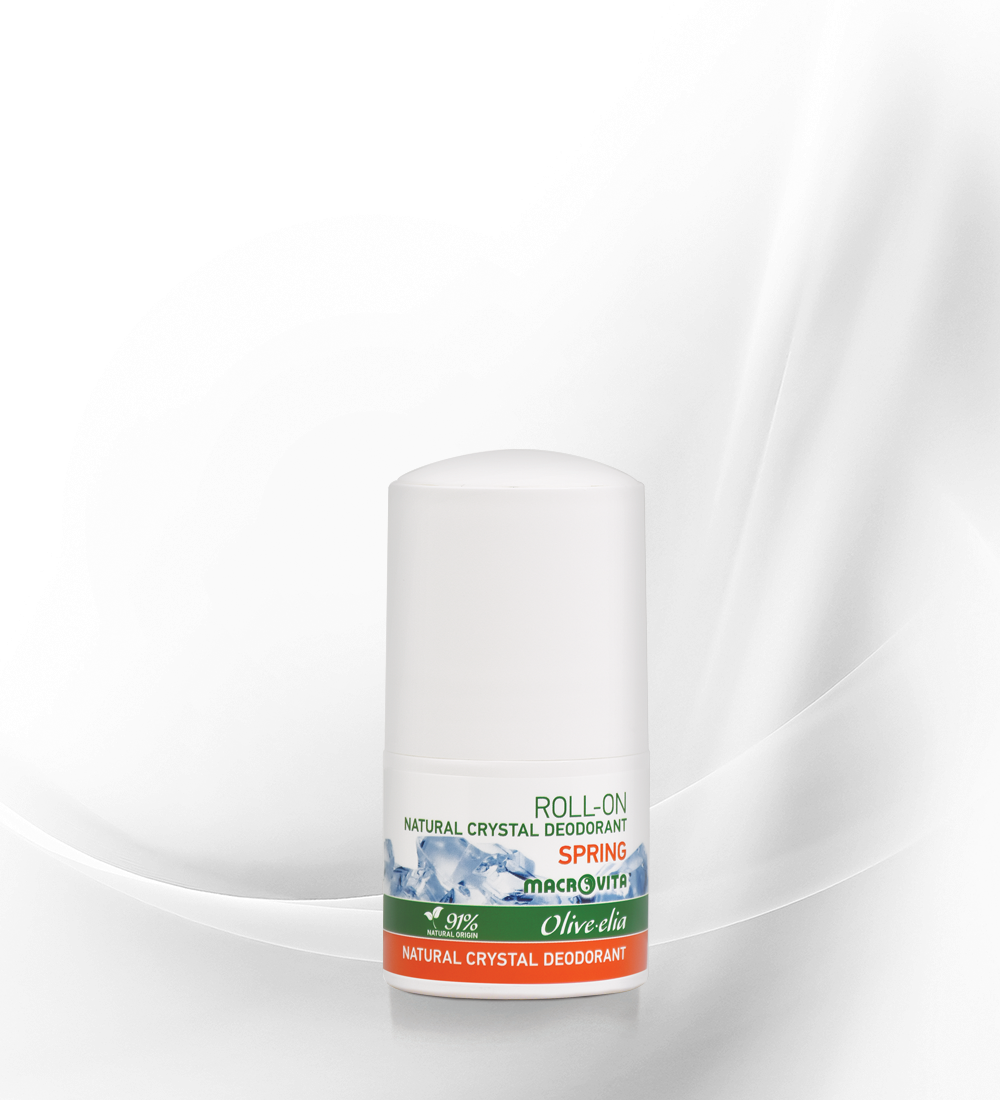 Natural crystal deo roll-on spring OLV