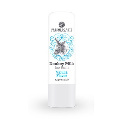 FRESH SECRETS Lipbalm with Donkey milk & Vanilla