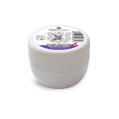 FRESH SECRETS Body Butter with Donkey Milk & Grape seed