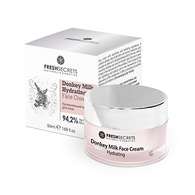 FRESH SECRETS Hydrating Face Cream Donkey Milk