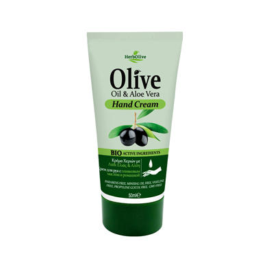 HERBOLIVE MINI HAND CREAM ALOE