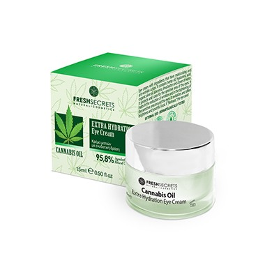 Fresh Secrets Eye Cream Extra Hydration With Cannabis