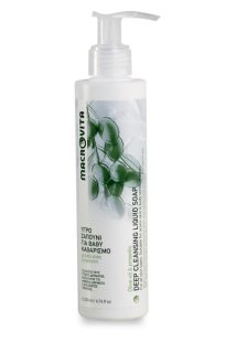 Deep cleansing liquid soap mini MACROVITA