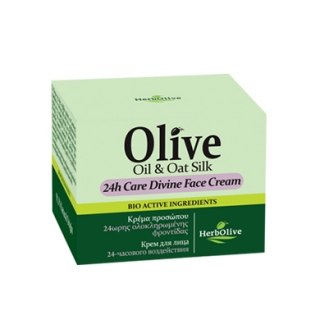 HERBOLIVE 24h CARE DIVINE FACE CREAM - 9/2020