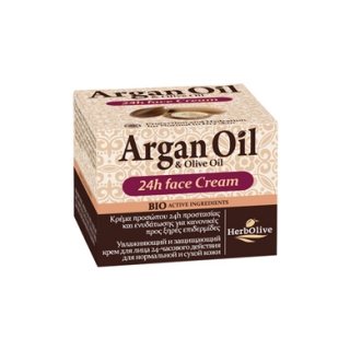 ARGAN FACE 24h MOIST CREAM NORMAL-DRY SKIN - 07/2020