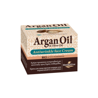 ARGAN FACE ANTIWRINKLE CREAM NORMAL-DRY SKIN