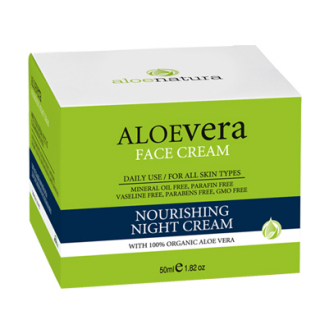ALOE NAT FACE NOURISHING NIGHT CREAM