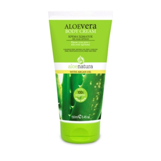 ALOE NAT BODY CREAM ARGAN OIL