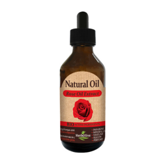 HERBOLIVE NATURAL OIL ROSE OIL EXTRACT