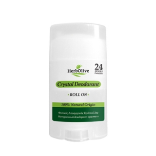 HERBOLIVE DEODORANT CRYSTAL ROLL ON