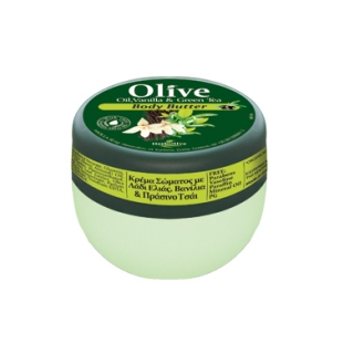 HERBOLIVE BODY BUTTER VANILLA & GREEN TEA (mini 50 ml)