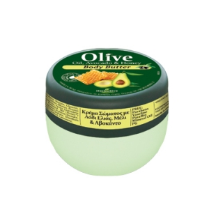 HERBOLIVE BODY BUTTER AVOCADO HONEY  (mini 50 ml)