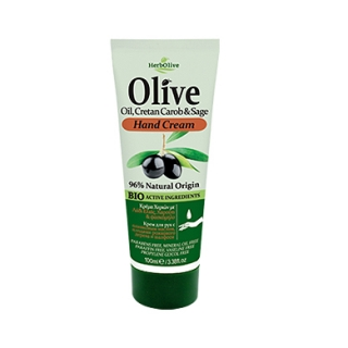 HERBOLIVE HAND CREAM WITH CAROB AND SAGE