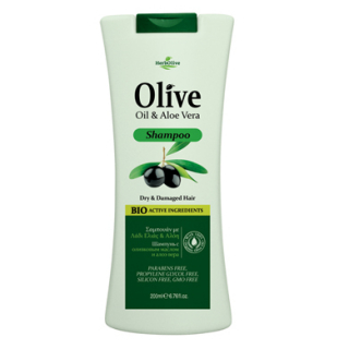 HERBOLIVE HAIR SHAMPOO ALOE (DRY HAIR)