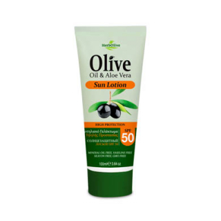 HERBOLIVE BODY SUN LOTION SPF 50