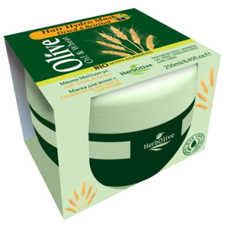 HERBOLIVE HAIR MASK HYDRO WHEAT