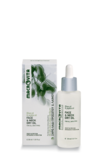 Face & neck dry oil
