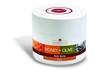 Body Butter HONEY & OLIVE with BIO honey and BIO olive oil