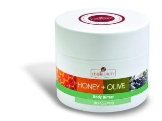 Body Butter HONEY & OLIVE with BIO honey, BIO olive oil and Aloe vera