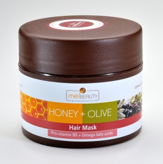 Hair Mask HONEY & OLIVE with BIO honey and BIO olive oil