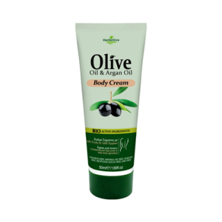 HERBOLIVE MINI BODY CREAM ARGAN OIL