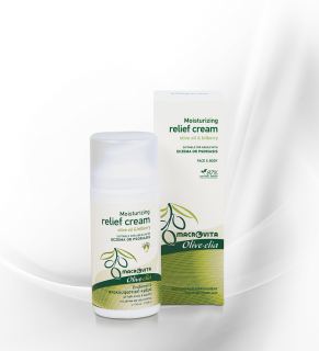 Moisturizing relief cream OLIVE.ELIA