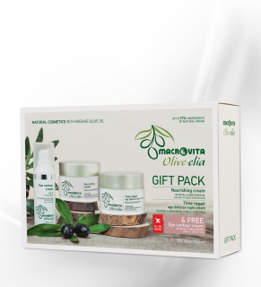GIFT SET OLIVE-ELIA Nourishing cream+Time repair cream+Eye Cream