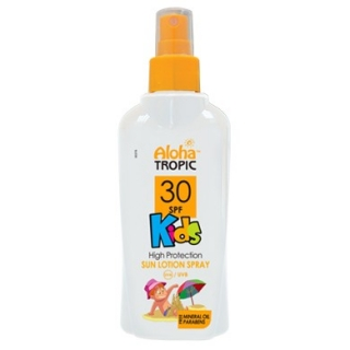 ALOHA TROPIC SUN LOTION KIDS SPF 30 HIGH PROT.