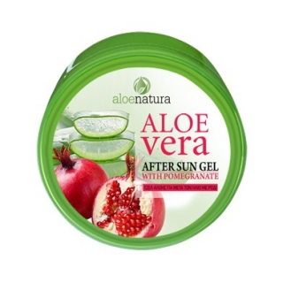 After Sun Gel Aloe Vera & Pomegranate