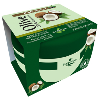 HERBOLIVE BODY BUTTER COCONUT